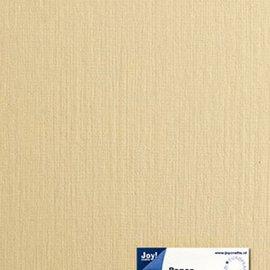 Paper for cardmaking linen structure crème A4, 21x29,7 cm, 225 gr