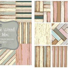Paperbloc - Vintage wood