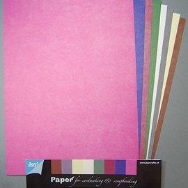 Papierset A4 fabric 8 sheet