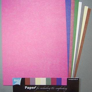 Papierset A4 Stoff 8 Blatt