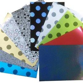 Mirror Carton, 50 sheets, 10 Designs A3