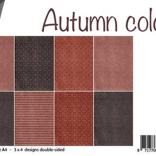 Paperset - Autumn colour