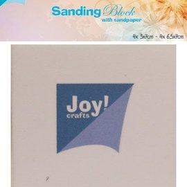 Polishing block incl. sandpaper (8pc)