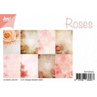 Papierset - Rosen