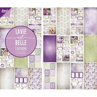 Papier & Stanzblock -  Lavendel