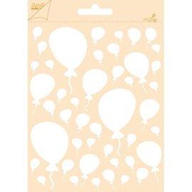 Polybesa Prägeschablone - Luftballons