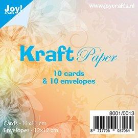 Kraftpapierset 10 x 10 - 8001/0013