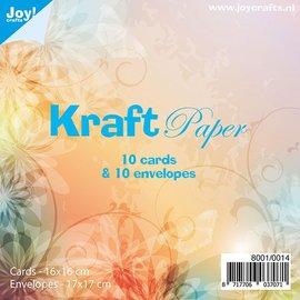 Kraftpapierset 16 x 16 - 8001/0014