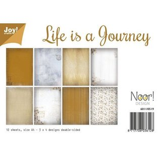Papierset - Life is a Journey