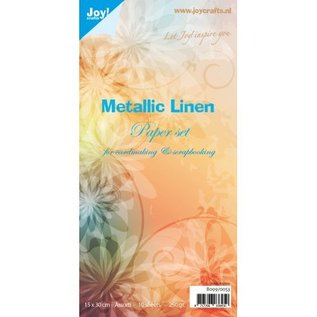 Papierset Metallic Leinen - 8099/0053