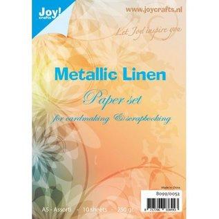 Papierset Metallic Leinen A5 - 8099/0052
