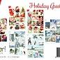 Stanzbogen A4 - Holiday Greetings 6013/0343