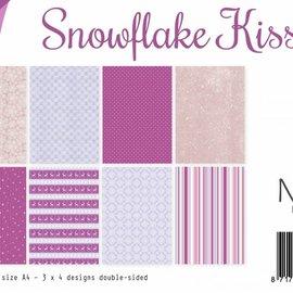 Paperset A4 - Snowflake kisses