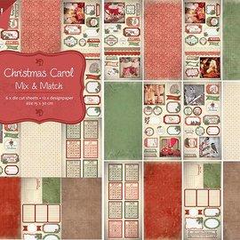 Papier- Stanzblock - Christmas Carol 6011/0382