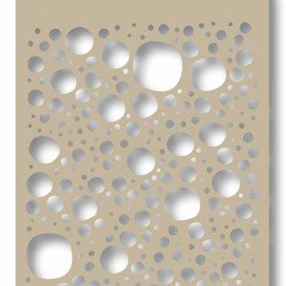 Mask stencil - Bubbles