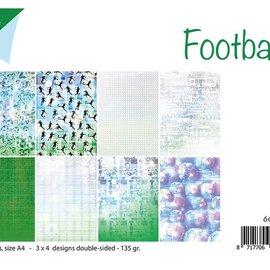 Papierset - Fußball 6011/0523