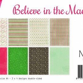Papierset - Believe in Magic 6011/0532