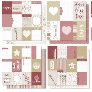 Scrap Designpapier - Project life - Love this life