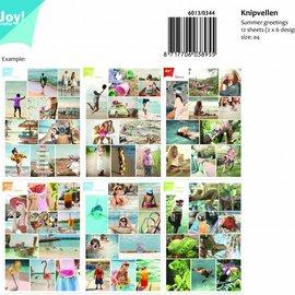 Schneidebögen A4- Summer greetings 6013/0344