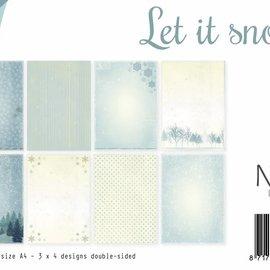 Papierset - Let it Snow A4 6011/0516