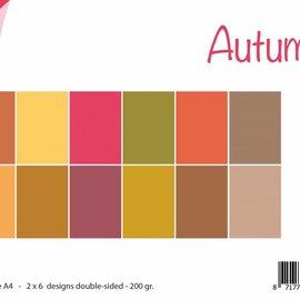 Papierset  uni - Herbst 6011/0537