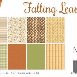 Designpaper - Falling Leaves