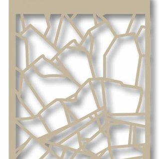 Mask stencil - Shards