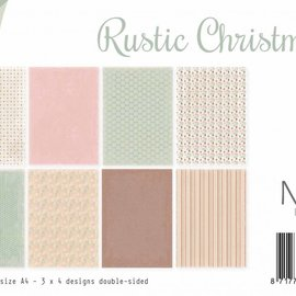 Papierset - Rustic Christmas 6011/0541