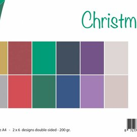 Papierset Matching Colors Uni - Weihnachten 6011/0538