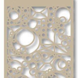 Mask Polybesaschablone - Kreis und Streifen 6002/0838