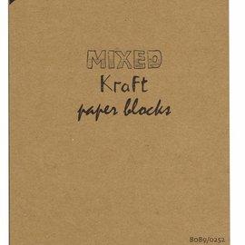 Kraftpapierblock gemischt A5 8089/0252