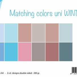 Paperset Matching Colors Uni - Winter
