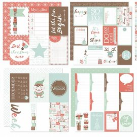 Scrap Designpaper - Project Life - December to remember