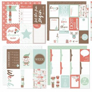 Scrap Designpapier - Project Life - December to remember