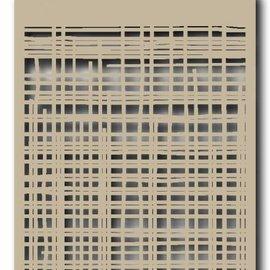 Polybesa Mask Schablone - Leinen 6002/0843