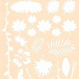 Polybesa stencil - Jungle