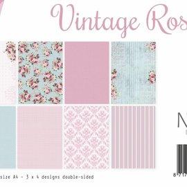 Papierset - Design Vintage Roses 6011/0548