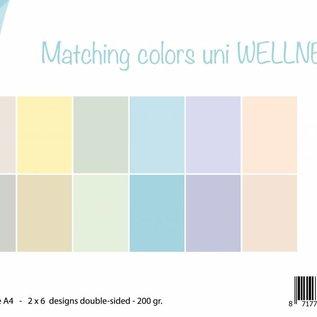 Papierset - Matchingcolors uni - Wellness