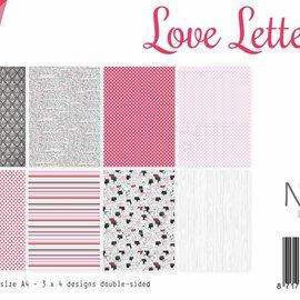Papierset -  Love Letters 6011/0525