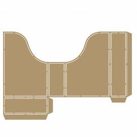 Polybesa Schablone - Scrap Box  6002/0856