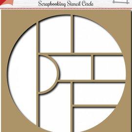 Scrapbooking Schablone Circle 6002/0857