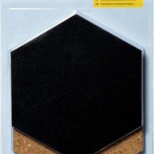 Tafel & Pinwand Hexagon