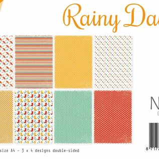 Papierset -  Rainy Days