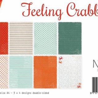 Papierset A4 - Design Feeling Crabby