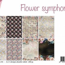Papierset A4 - Flower Symphony 6011/0550