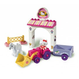 Androni Unico Plus Hello Kitty tractor, 18 delig 8658