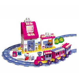 Androni Unico Plus Hello Kitty treinstation, 95 delig 8652