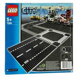 Lego lego city 7280 rechte wegenplaat en kruising
