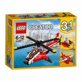 Lego lego creator 31057 rode helikopter