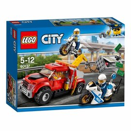Lego lego city 60137 sleeptruck probleem